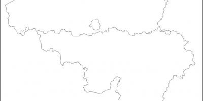 Belgien Karte Umriss.Belgien Karte Umriss Karte Von Belgien Outline Western Europe